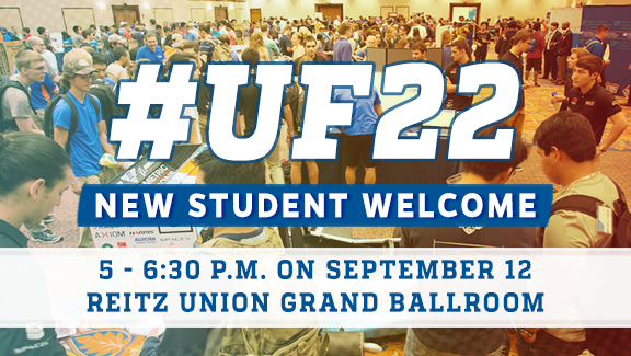 New Student Welcome