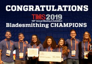 UF MSE 2019 TMS Bladesmithing