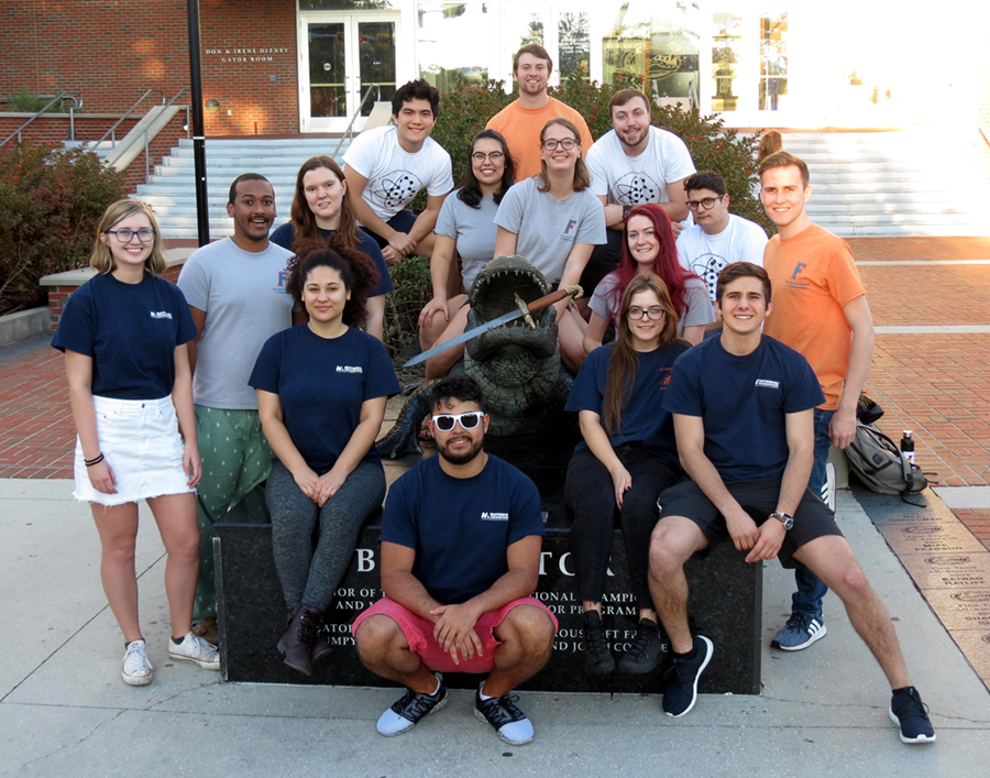 2019 UF MSE Bladesmithing Team Photo