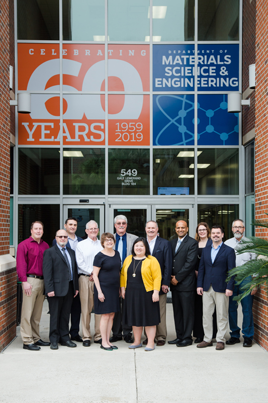 2019 UF MSE Advisory Board Meeting attendees