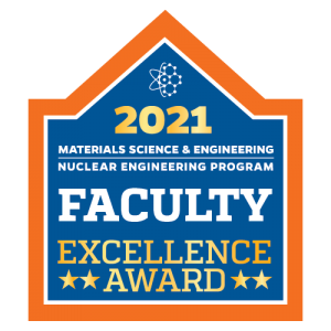 UF MSE-NE 2021 Faculty Excellence Award