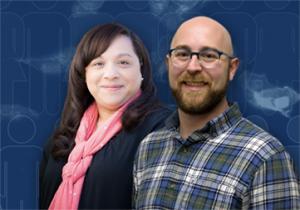 Josephine Allen, Ph.D. and Bryan James