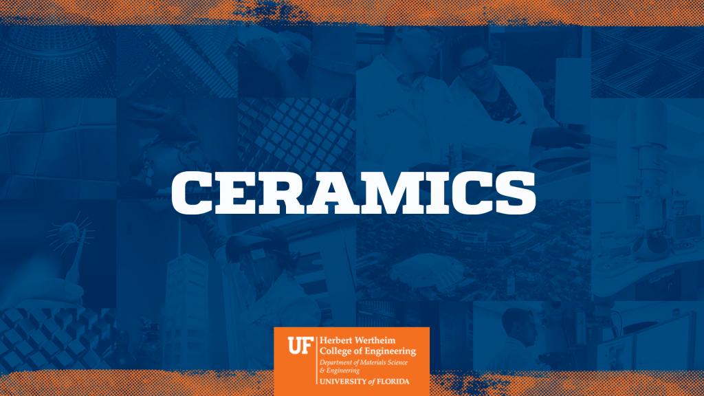 UF MSE Ceramics