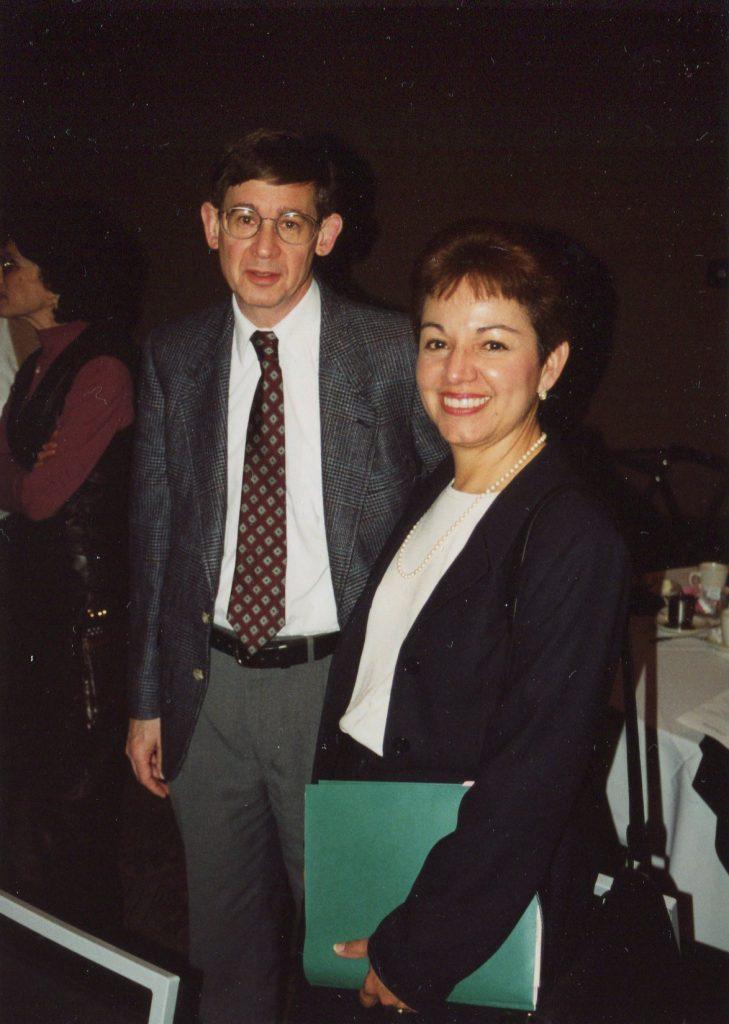 Ed Dugan, Ph.D., Olga Hanek