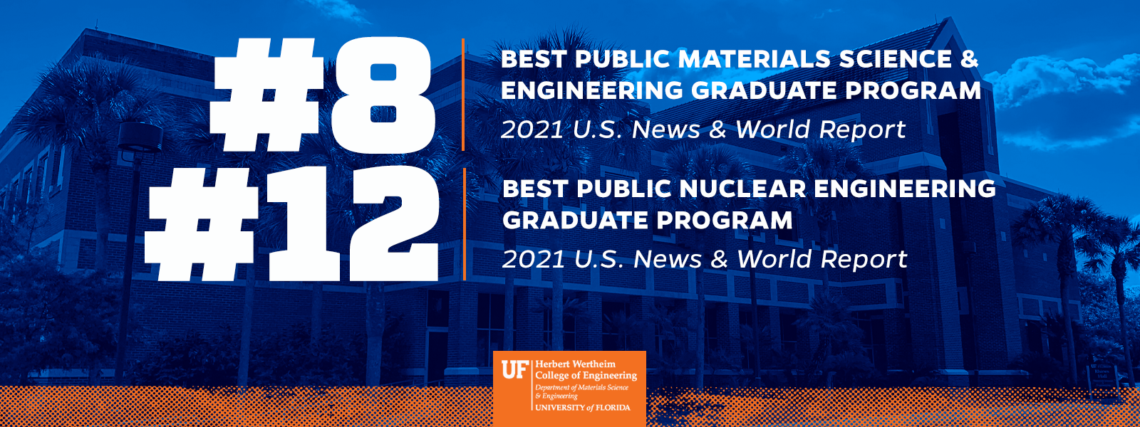 2021 USNWR Graduate Program Rankings