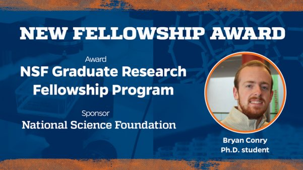 Conry Awarded NSF Graduate Research Fellowship