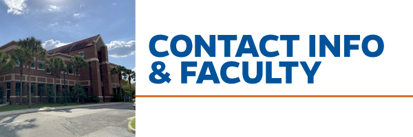 Contact & Faculty