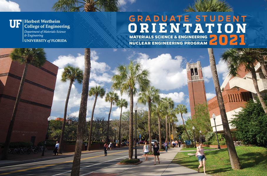 Grad Student Orientation 2021