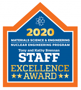 UF MSE-NE Staff Excellence award