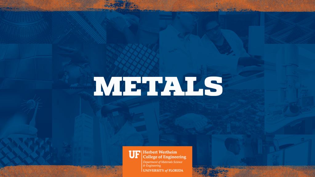UF MSE Metals