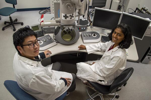 Nuclear Engineering graduate students