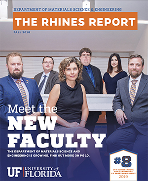 Fall 2018 Rhines Report cover