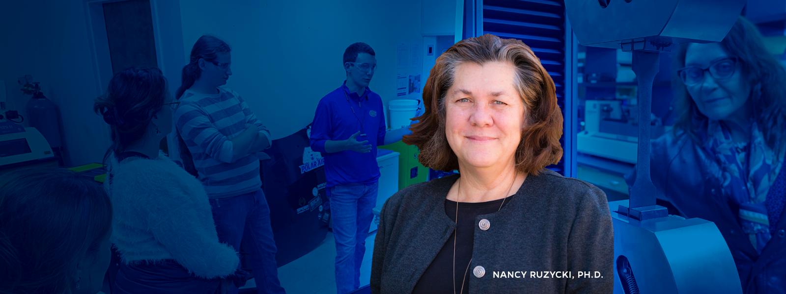 Nancy Ruzycki. Ph.D.